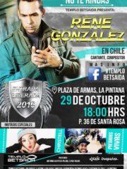No te Rindas – René Gonzalez en Chile